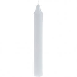 White Household Candle