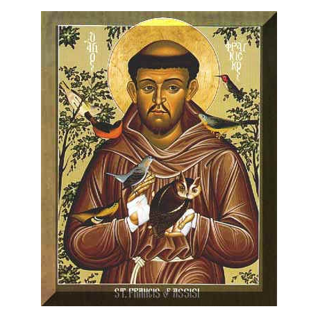 Saint Francis Of Assisi Oil