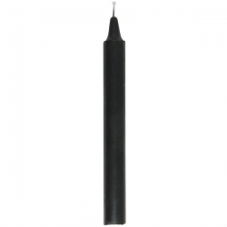 Black Household Candle