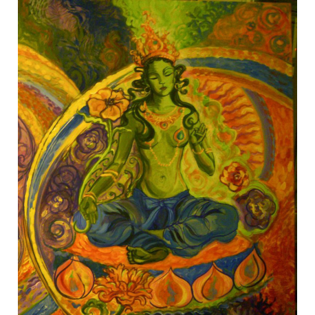 Green Tara Oil