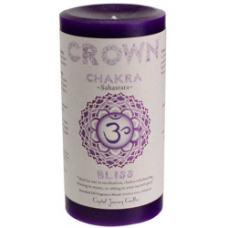 Crown Chakra Pillar Candle