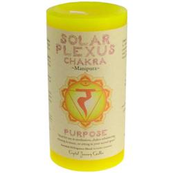 Solar Plexus Chakra Pillar Candle