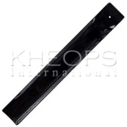 Art Glass Incense Holder - Black