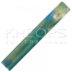 Art Glass Incense Holder - Green