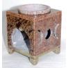 Soapstone Triple Moon Oil Diffuser