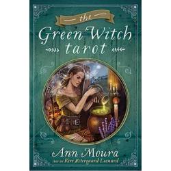 Green Witch Tarot Deck & Book Set