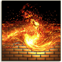 Fiery Wall of Protection Conjure Oil