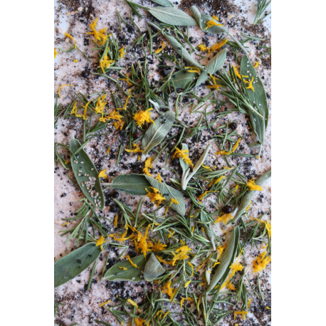 White Sage and Salt Oil