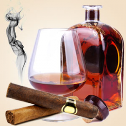 Cognac and Cubans Oil